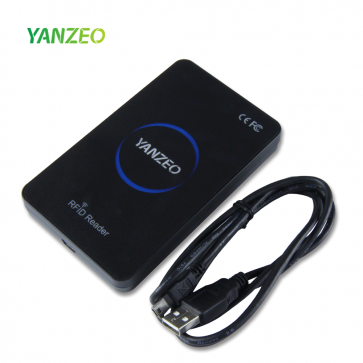 Yanzeo SR360 865Mhz~915Mhz Desktop UHF RFID Card Reader with Keyboard Emulation Output Access Control System POS