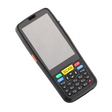 Yanzeo P6S Android Mobile Phone Industrial PDA 1D 2D Barcode Scanner Data Collection Terminal Waterproof Barcode Scanner With 4G WiFi GPS RFID UHF For Warehouse