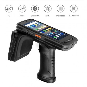 RT72 Mobile Data Collector Handheld PDA Terminal 1D / 2D Barcode Scanner IP67 Rugged Handheld UHF RFID Reader With 3G RAM 32G ROM