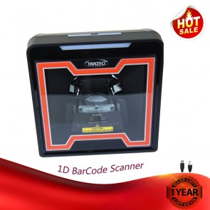 Yanzeo YZ868 Desktop Automatic High Speed Omnidirectional Directional USB 1D Barcode Scanner RS232 20 Scan Lines