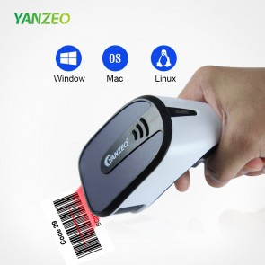 Yanzeo E3  Handheld 1D 2D Barcode Scanner USB Wired QR Code PDF417 Data Matrix Code Reader for Windows/Mac Square POS System