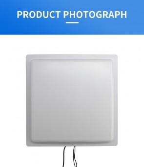 YANZEO UHF RFID Reader Writer R1612 12DBI High Speed Read 0-35M Long Range Integrated RS485 RS232 USB 865~928MHz Waterproof