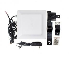 YANZEO R167 7DBI 5M Long Range Integrated UHF RFID Reader Writer 865~928MHz RS485 RS232 USB Waterproof