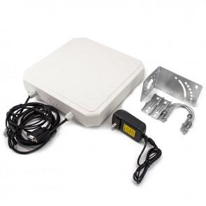 R784 UHF RFID Reader 6m Long Range RJ45 USB RS232/RS485/Wiegand Output Outdoor IP67 9dbi Antenna Integrated UHF Reader