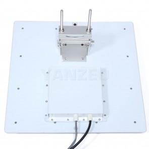 Yanzeo SI802 UHF RFID Reader 15-30m Long Range IP67 RJ45 Network RS232/485 /Wiegand 12dbi Antenna UHF Integrated Reader