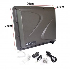 Yanzeo SR691 UHF RFID Writer Reader 9M Long Distance Outdoor IP67 9dbi Antenna RS232/RS485/Wiegand UHF Integrated Reader