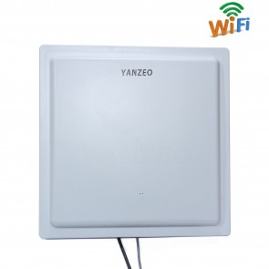 Yanzeo SI803 UHF RFID Reader 15-30m Long Range IP67 WIFI RJ45 Network RS232/485 /Wiegand 12dbi Antenna UHF Integrated Reader
